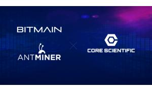 Bitmain помогает долгосрочному партнеру Core Scientific стать крупнейшим хостинг-провайдером для майнеров в Северной Америке