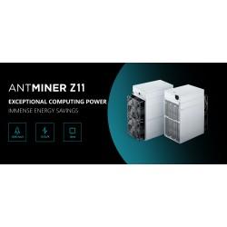Asic майнер Bitmain Antminer Z11 135 kSoL, с блоком питания