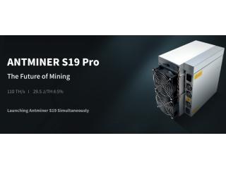 Bitmain Antminer S19 и S19 Pro 95-110 TH/s
